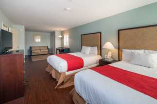 Morro Shores Inn Guest Rooms - 2 Double Bed Suite Room