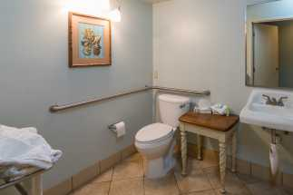 Morro Shores Inn Guest Rooms - Handicap Bathrooms are available