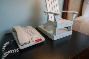 Direct Dial phone and beach theme decor