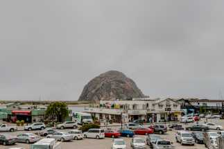 Morro Shores Inn & Suites - Morro Rock in the distance